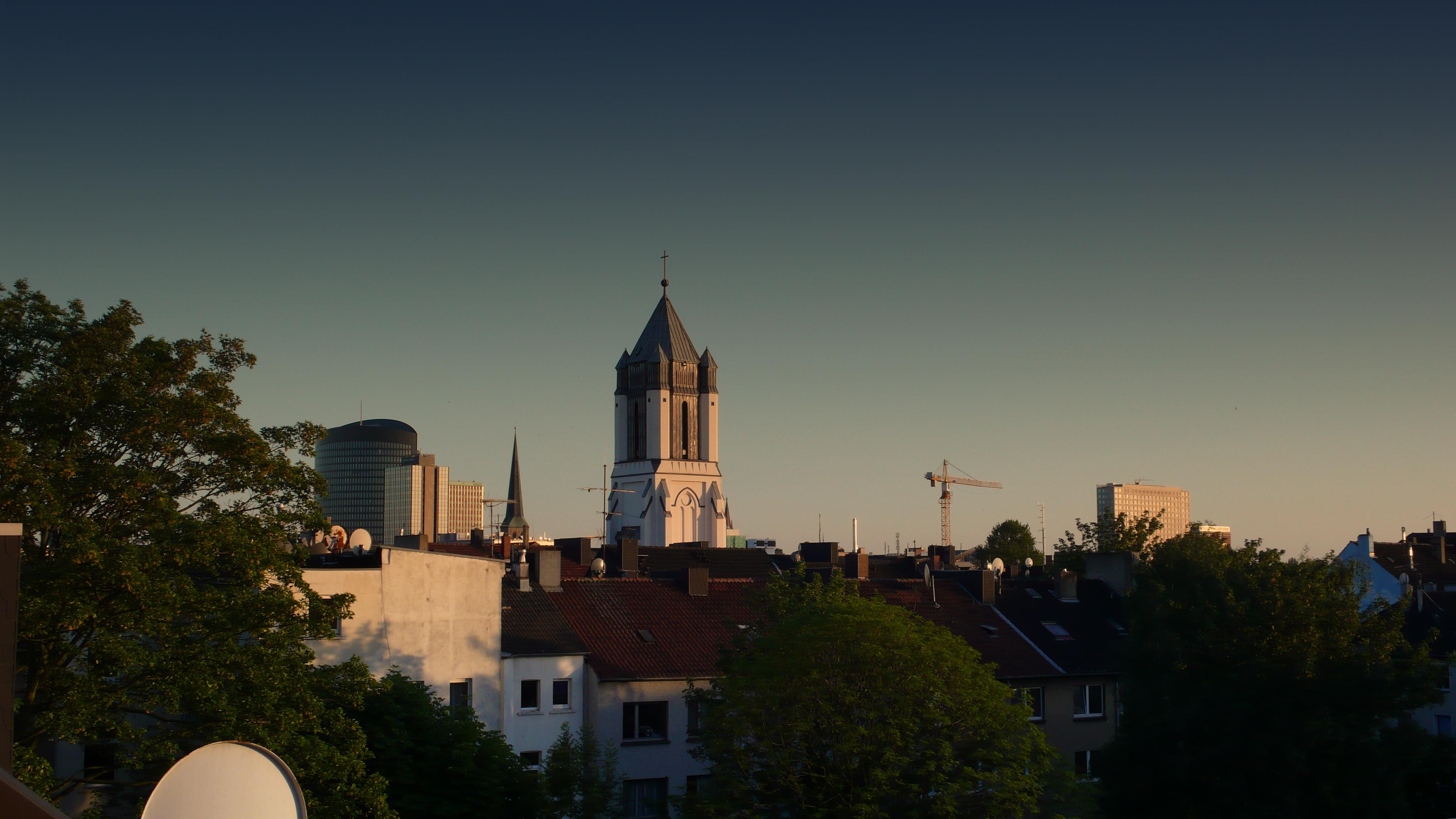 Blick auf St. Josef in der Nordstadt