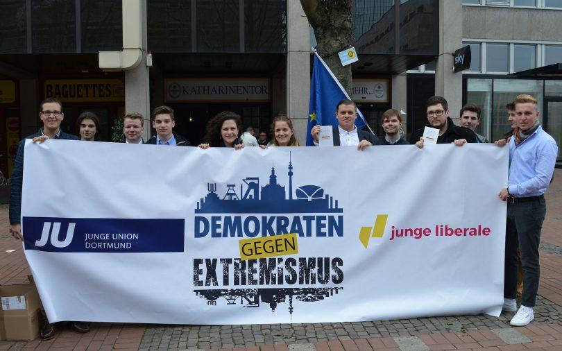 Demonstrationstag in Dortmund
