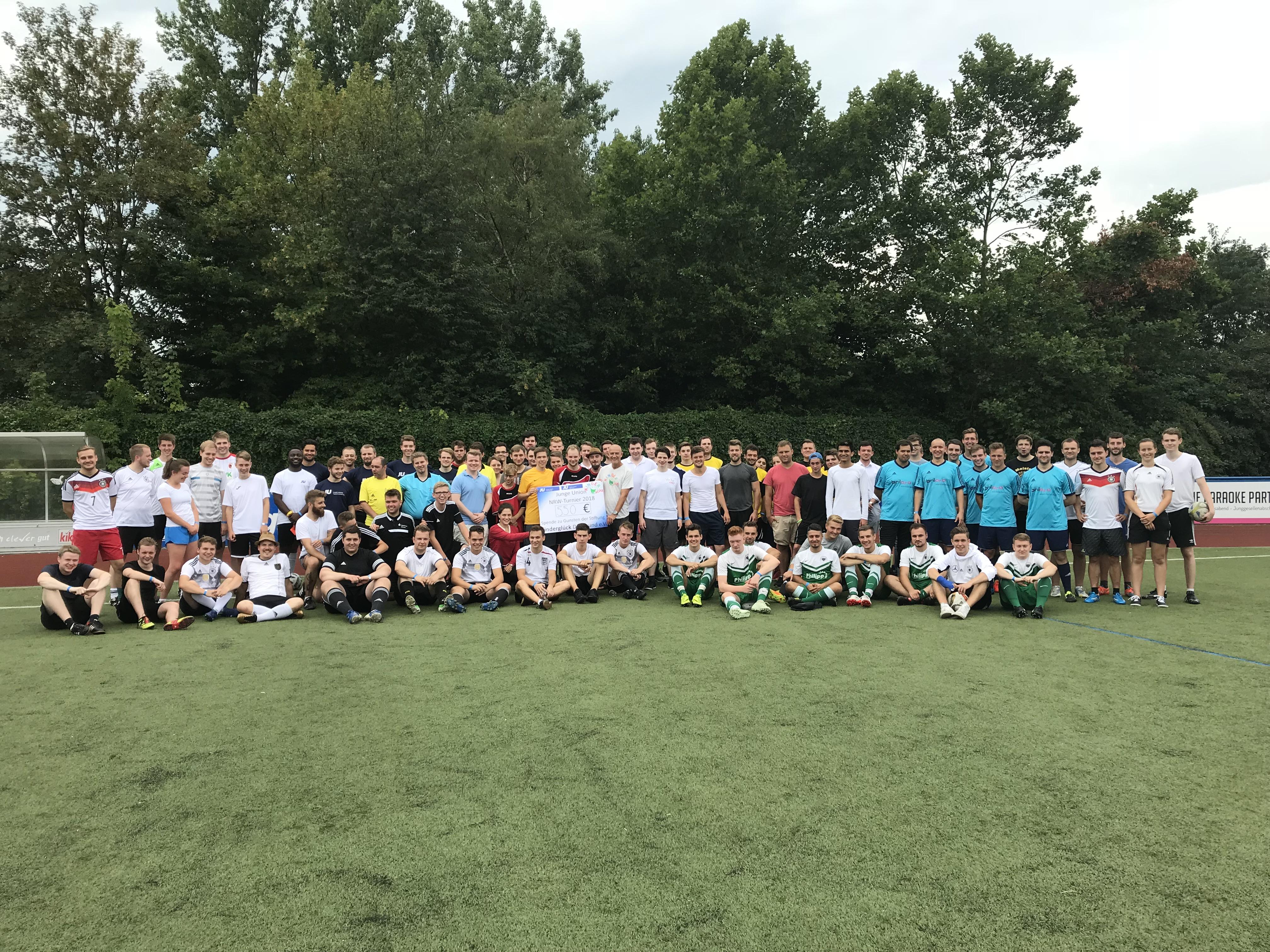 JU NRW Fußballturnier in Dortmund